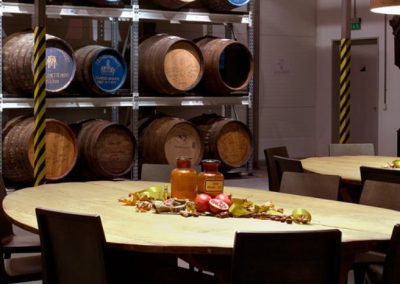 Arcus distillery and restaurant